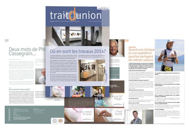 Clinique Générale-Beaulieu - Magazine interne