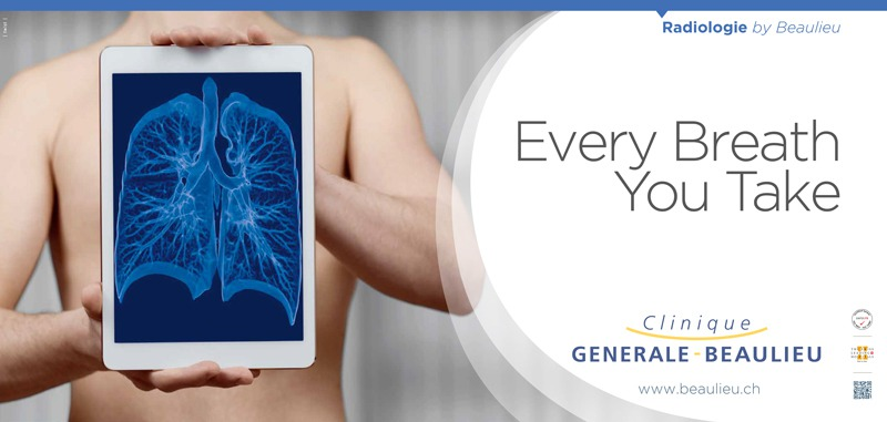 Clinique Générale-Beaulieu - Campagne d'affichage - Sujet Radiologie