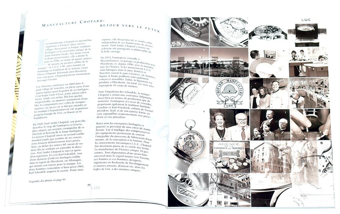Manufacture de Haute Horlogerie Chopard - Catalogue L.U.C