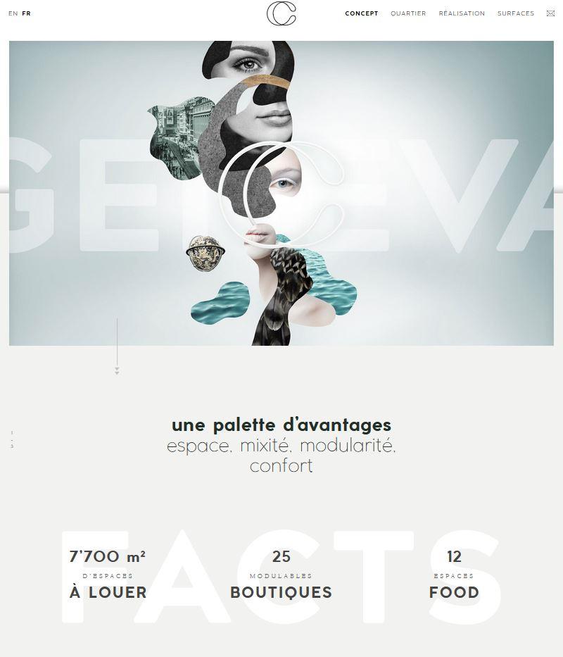 Bâtiment - Confédération Centre - Site internet - Page Avantages