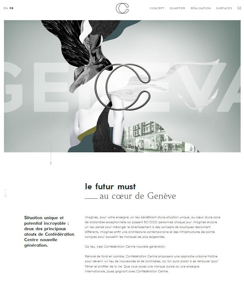Bâtiment - Confédération Centre - Site internet - Page Must