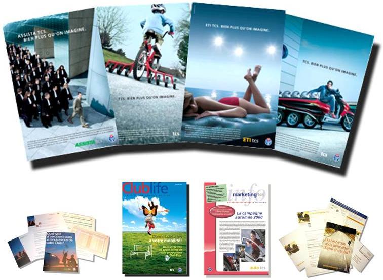Touring Club Suisse - Campagnes nationales image, produits, promotion et recrutement