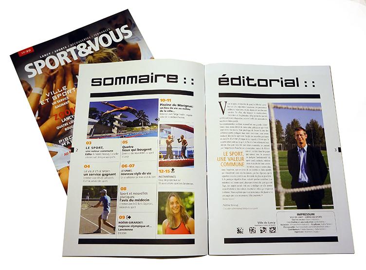 Ville de Lancy - Magazine Sport & Vous