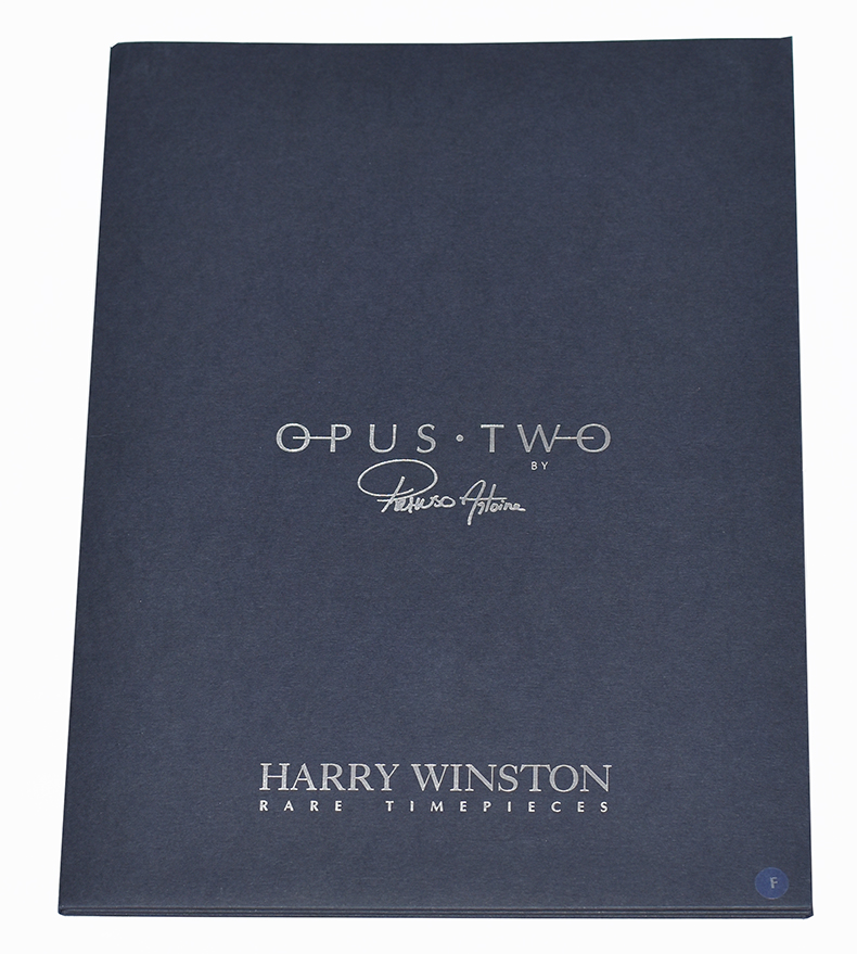 Harry Winston Ultimate Timepieces - Dossier de presse Opus Two