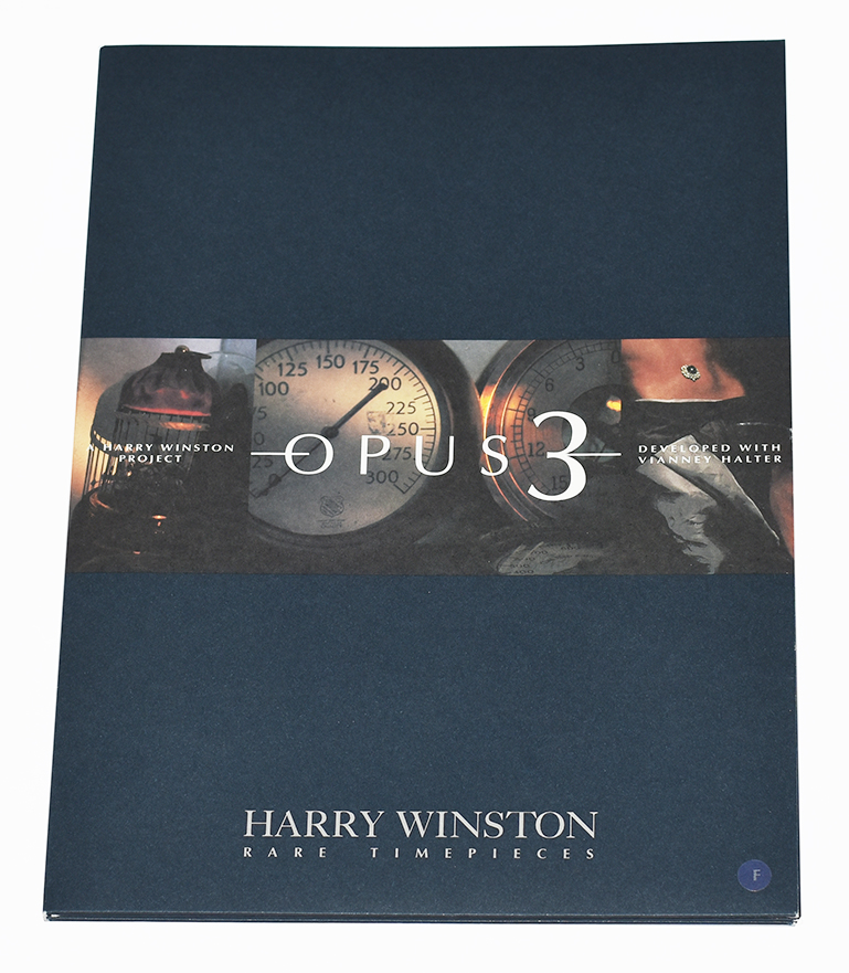 Harry Winston Ultimate Timepieces - Dossier de presse Opus 3