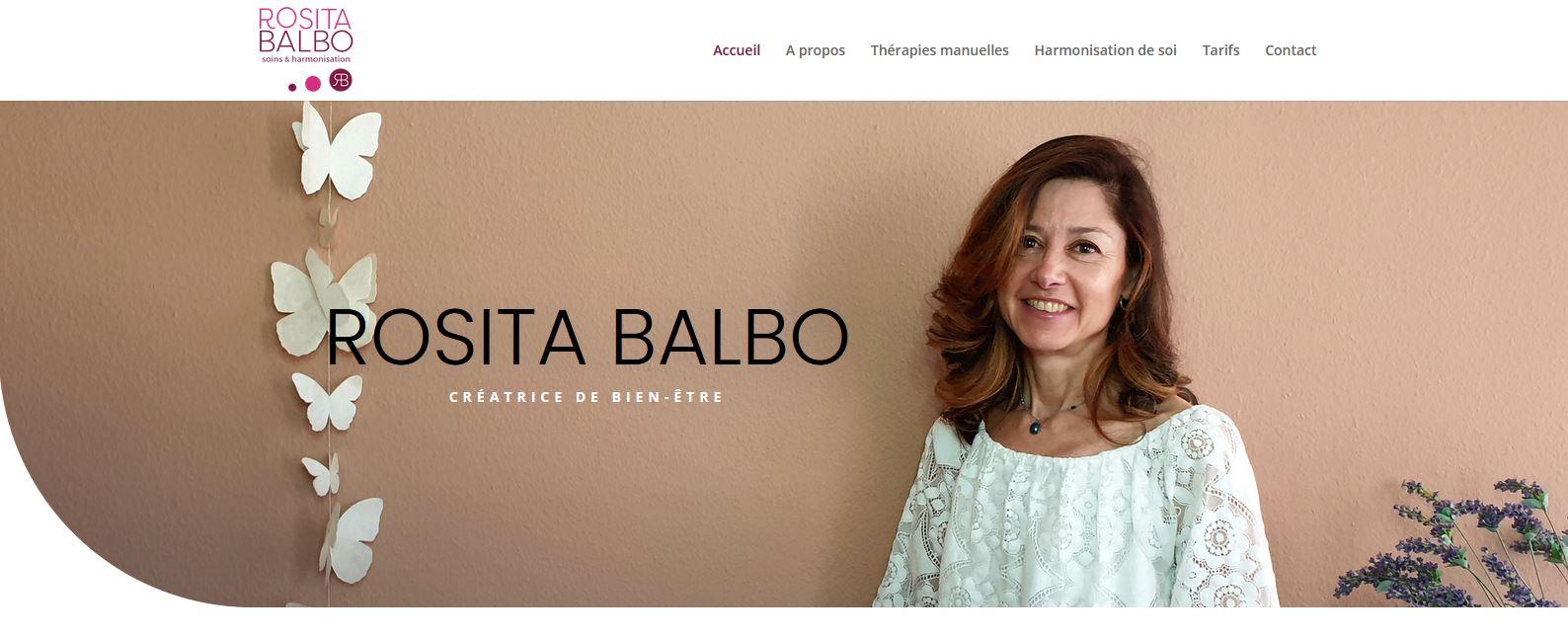 Santé - Rosita Balbo - Site internet - Home Page