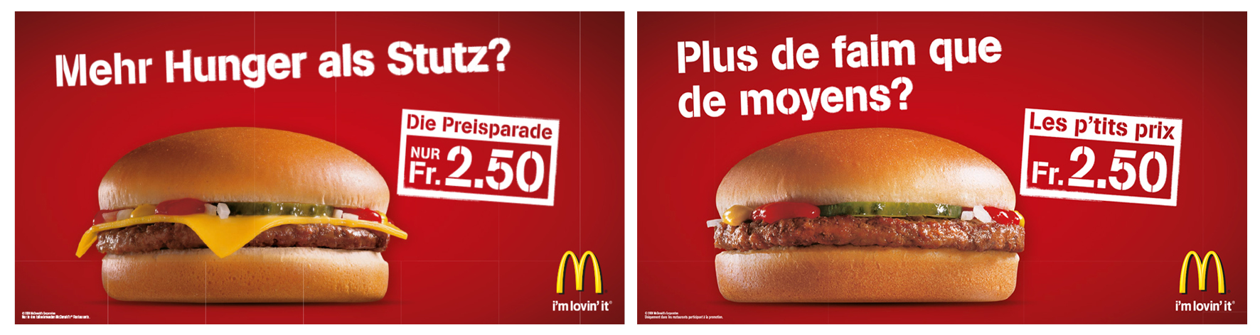 Adaptation - McDonald's - Campagne nationale produits