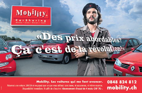 Mobility Car Sharing - Campagne nationale de lancement