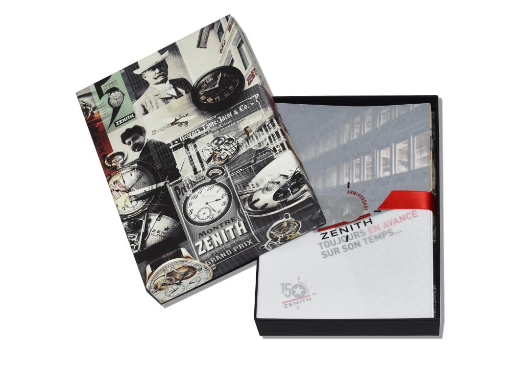 Manufacture de Haute Horlogerie Zenith - Dossier de presse 150e anniversaire