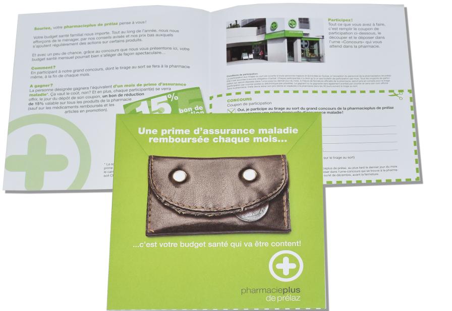 Pharmacie Plus - Mailing pour une promotion locale