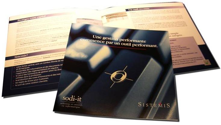 """Création du nom """"SISTEMIS"""" pour un logiciel financier"""